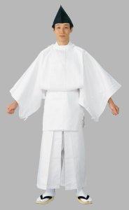 画像1: 白丁衣装(行列の衣装)【安心の品質】 (1)