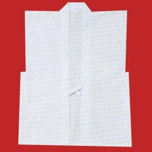 画像1: 神前むけ簡易羽織(白) (1)