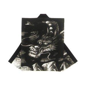 画像1: 和太鼓むけ袖なし法被日本の歳時記【黒龍 おすすめ】 (1)