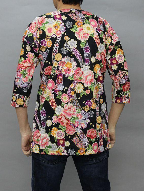 お買い得鯉口シャツ男性用女性サイズも